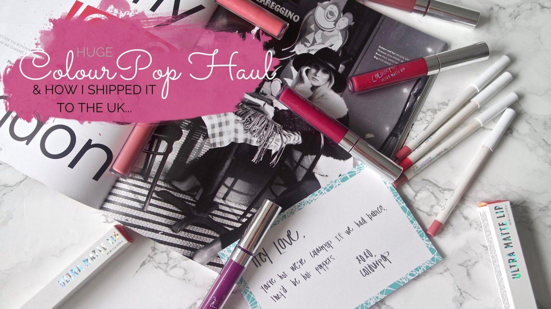 ColourPop Ultra Matte Lips & Lippie Pencil Haul || Beauty