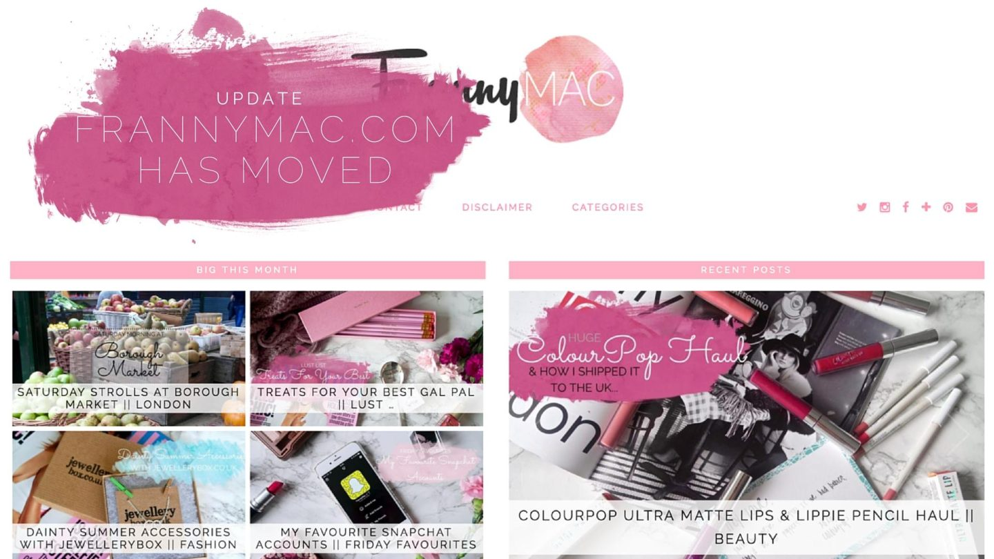 Extreme Makeover – FrannyMac Edition || Update