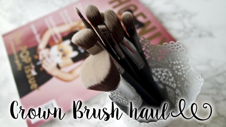 Makeup Brush Haul – Crown Brush || Beauty
