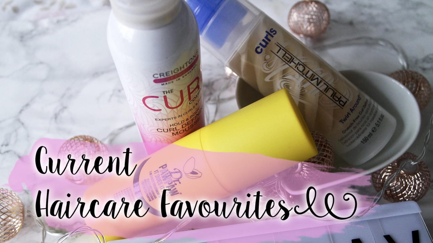 Current Hair Care Favourites || Friday Favourites