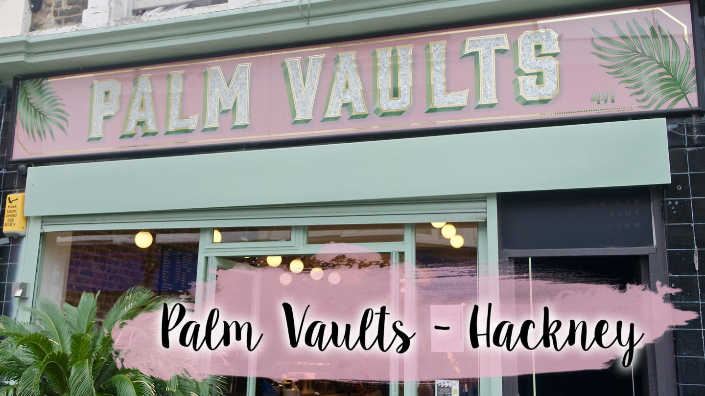Velvet Lattes at Palm Vaults, Hackney || Food & Drink