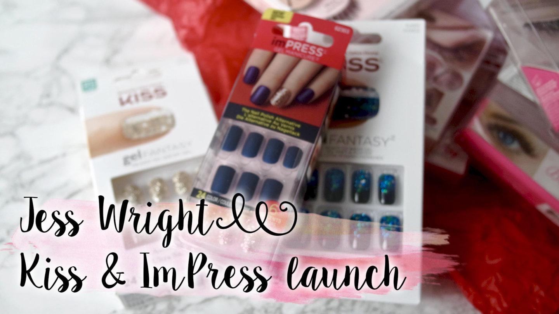 Jess Wright x Kiss & Impress & A Nail Giveaway || Beauty