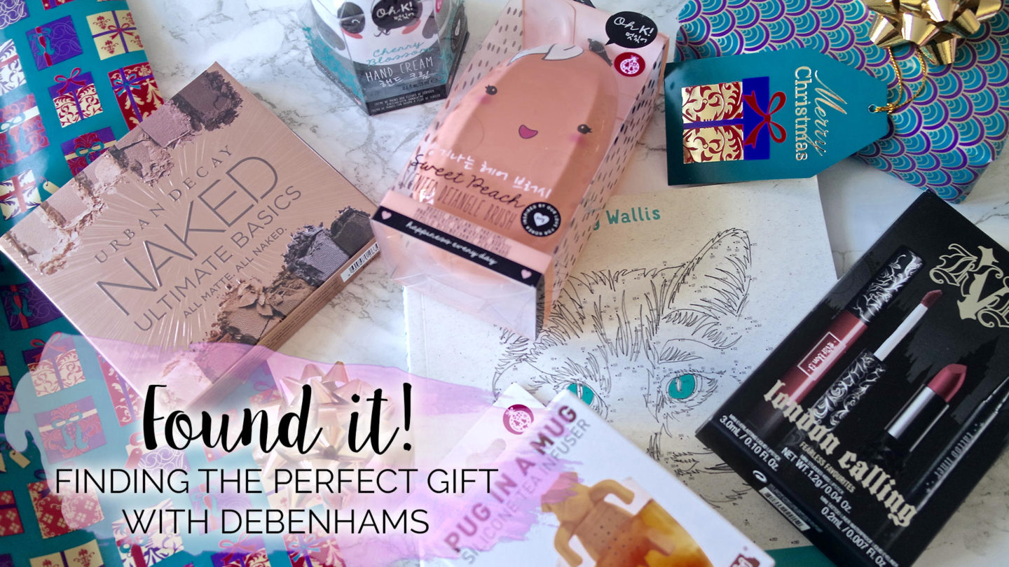 Finding The Perfect Christmas Gift with Debenhams - Found It!