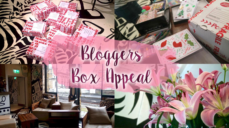 #BloggerBoxAppeal at Shoreditch Platform || Life Lately