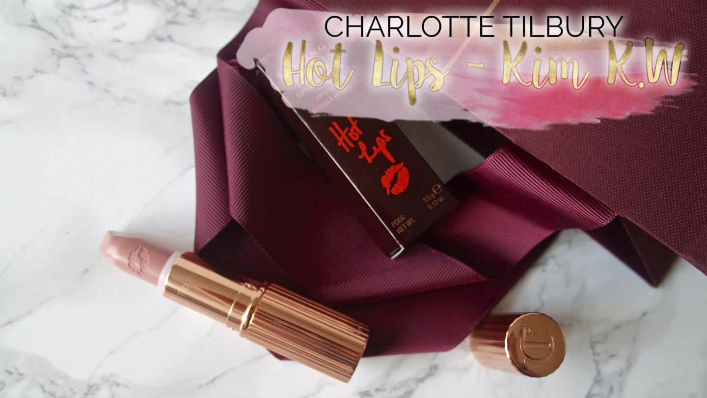 Charlotte Tilbury Hot Lips Lipstick in Kim K.W || Beauty
