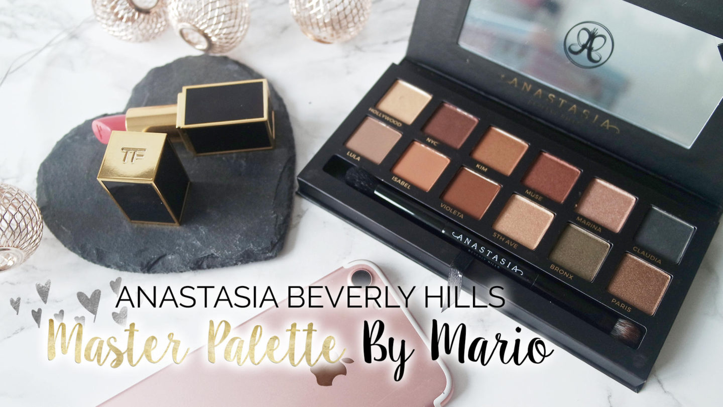 Anastasia Beverly Hills Master Palette by Mario || Beauty