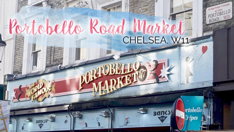Saturday Mornings at Portobello Road Market, Chelsea || London