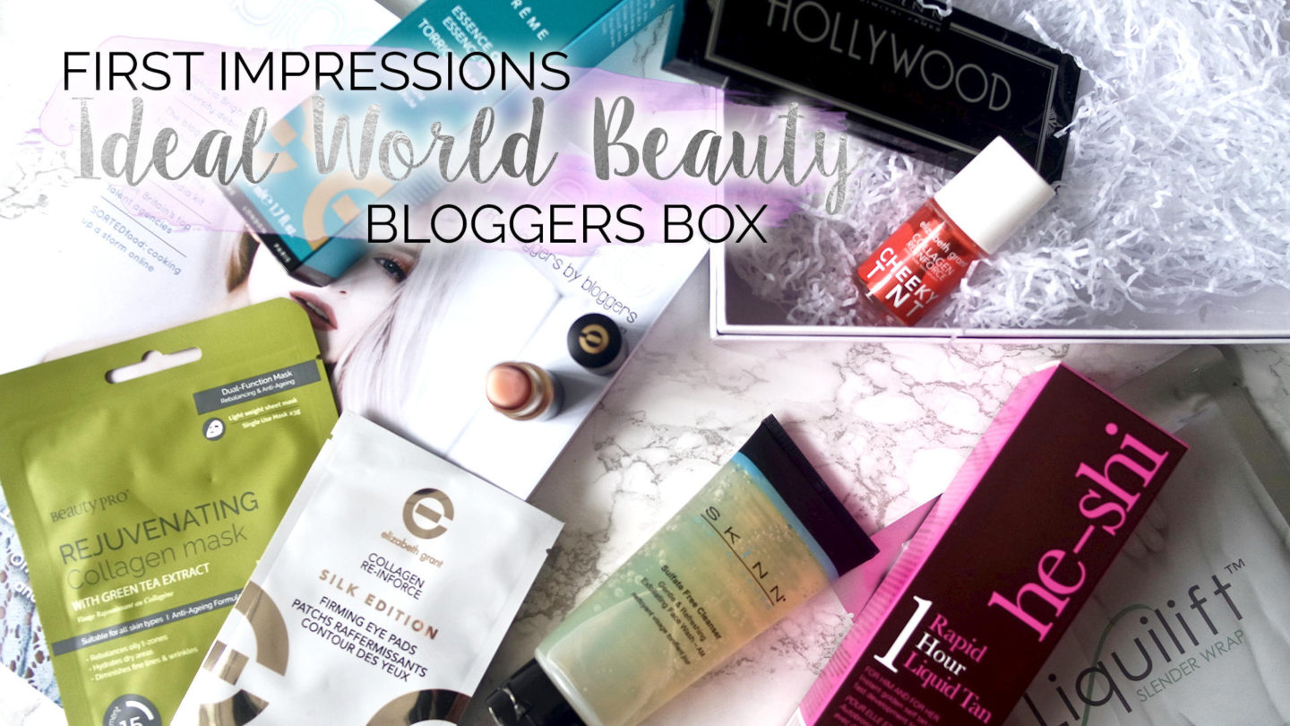 Ideal World – Blogger Beauty Box ft Elizabeth Grant || Beauty