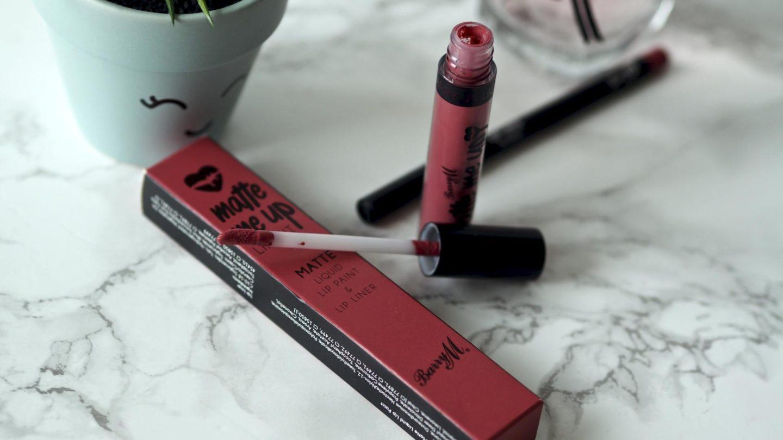 Barry M Matte Me Up Lip Kit in Runway    Beauty