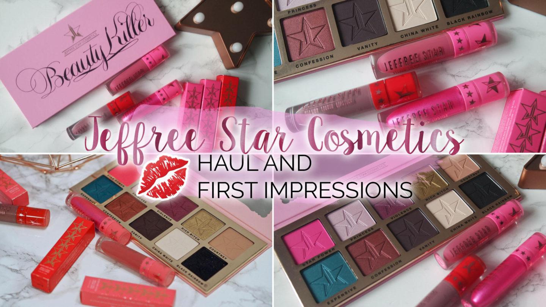 Jeffree Star Cosmetics – Haul & First Impressions    Beauty