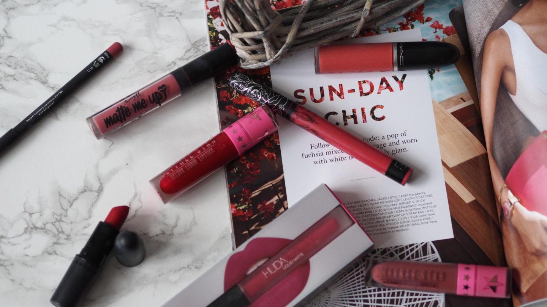 My Week in Lipsticks - #23    Life Lately