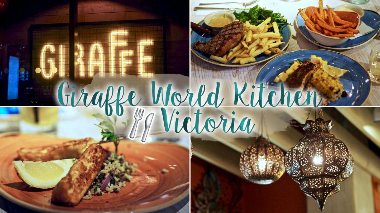 Giraffe World Kitchen, Victoria – Review    Food & Drink