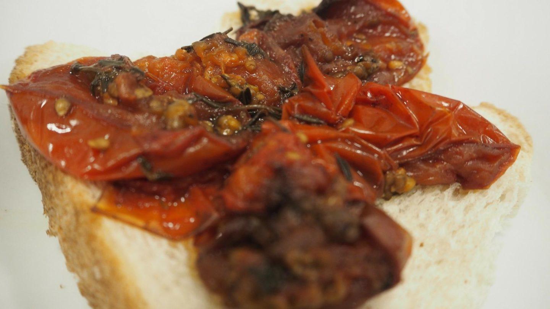 Slow Cooker Breakfast Baked Tomatoes || Recipe