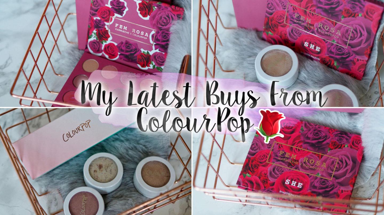 My Latest Buys From ColourPop – Mini Haul || Beauty