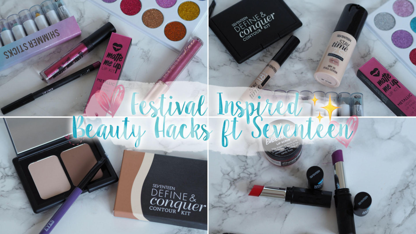 Festival Inspired Makeup Tips ft Seventeen || Beauty