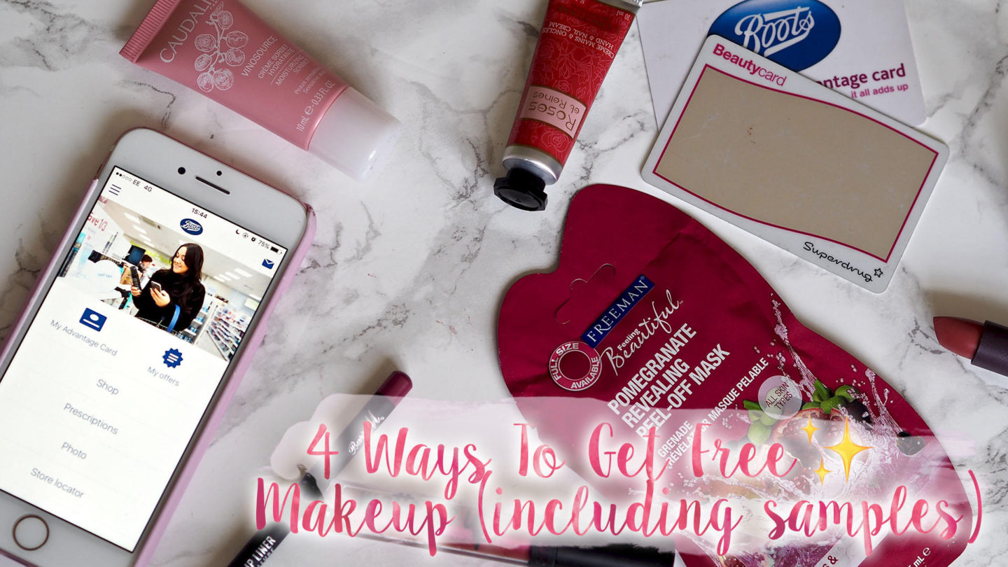 4 Ways To Get Free Makeup (inc Samples) || Beauty