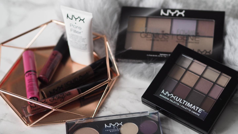 A NYX Haul From Debenhams (+ A Giveaway!)    Beauty
