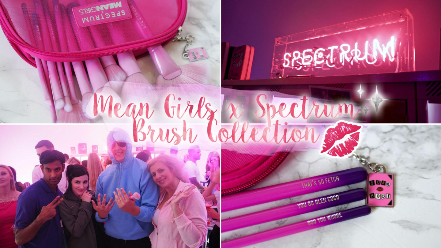 Mean Girls x Spectrum Collections Brush Launch || Beauty