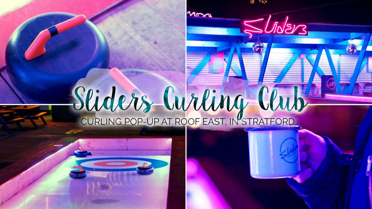 Sliders Curling Club at Roof East, Stratford || London