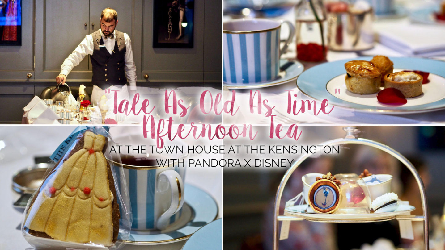 Tale As Old As Time Afternoon Tea ft PANDORA x Disney || #DoSeeTheMagic