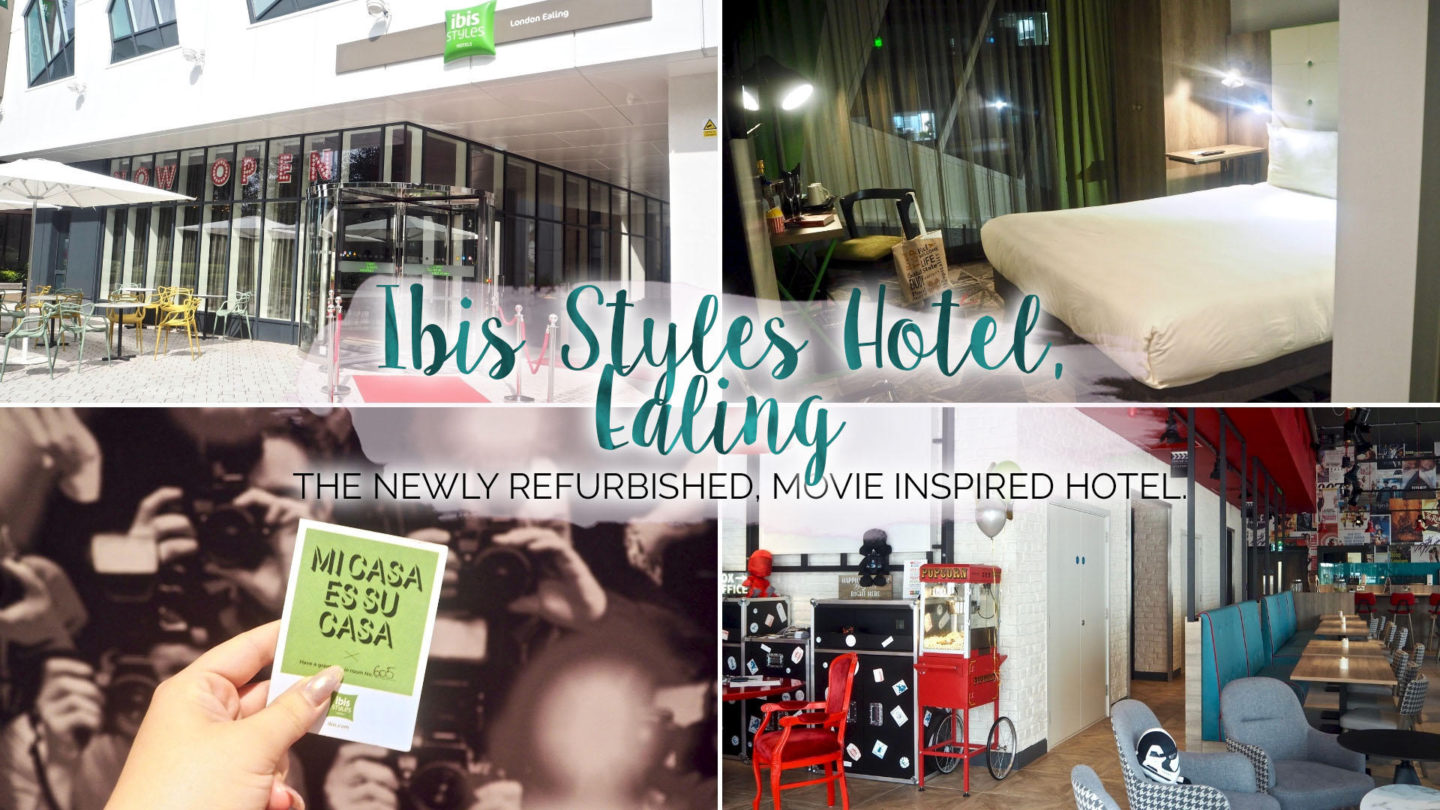 A Night At Ibis Styles Hotel, Ealing || Travel