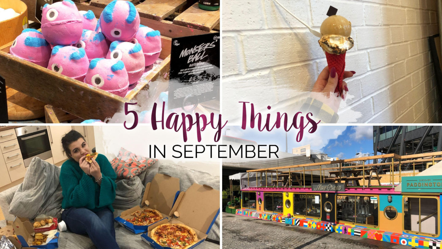 5 Happy Things – #25 – September || Life Lately