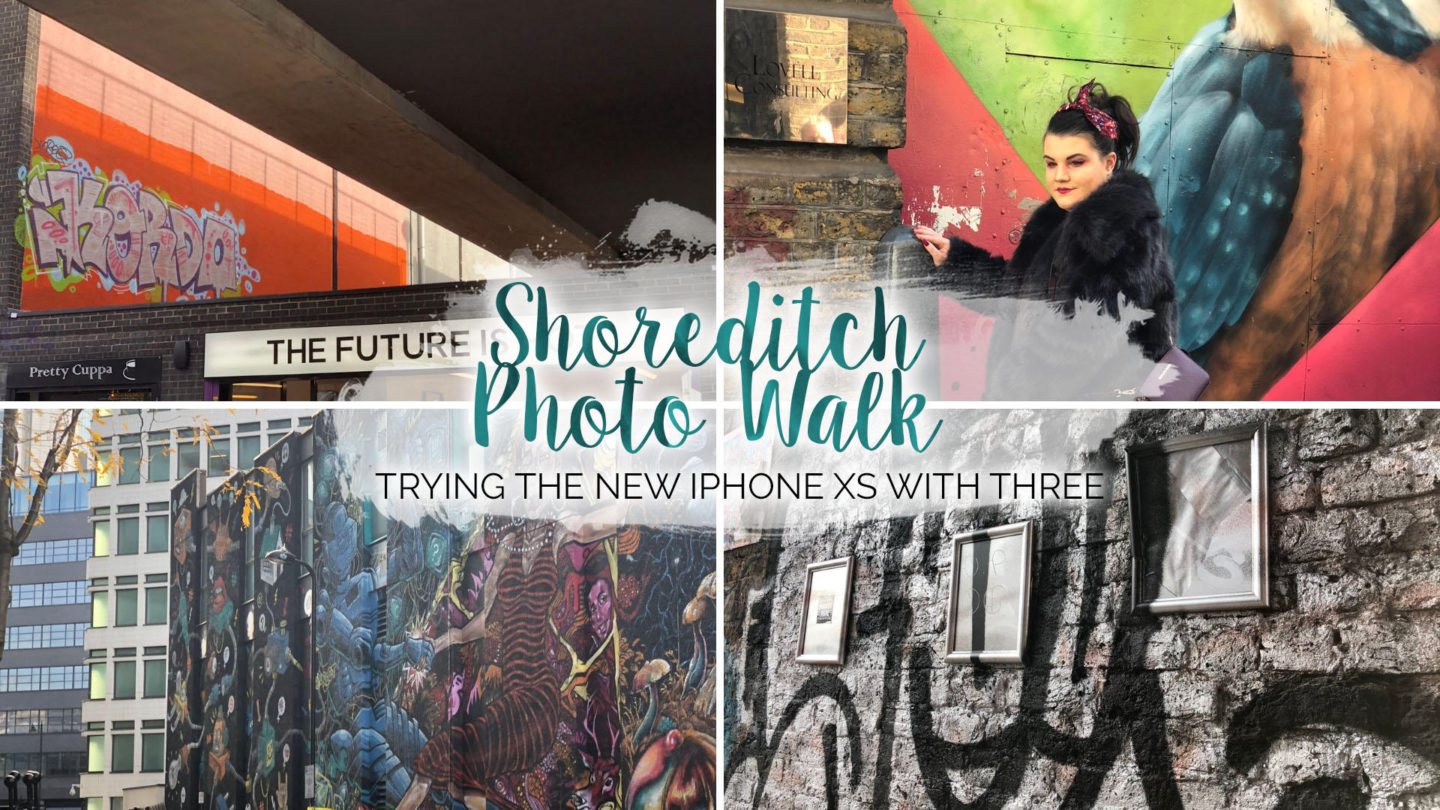 Shoreditch iPhone Photowalk with Three || London