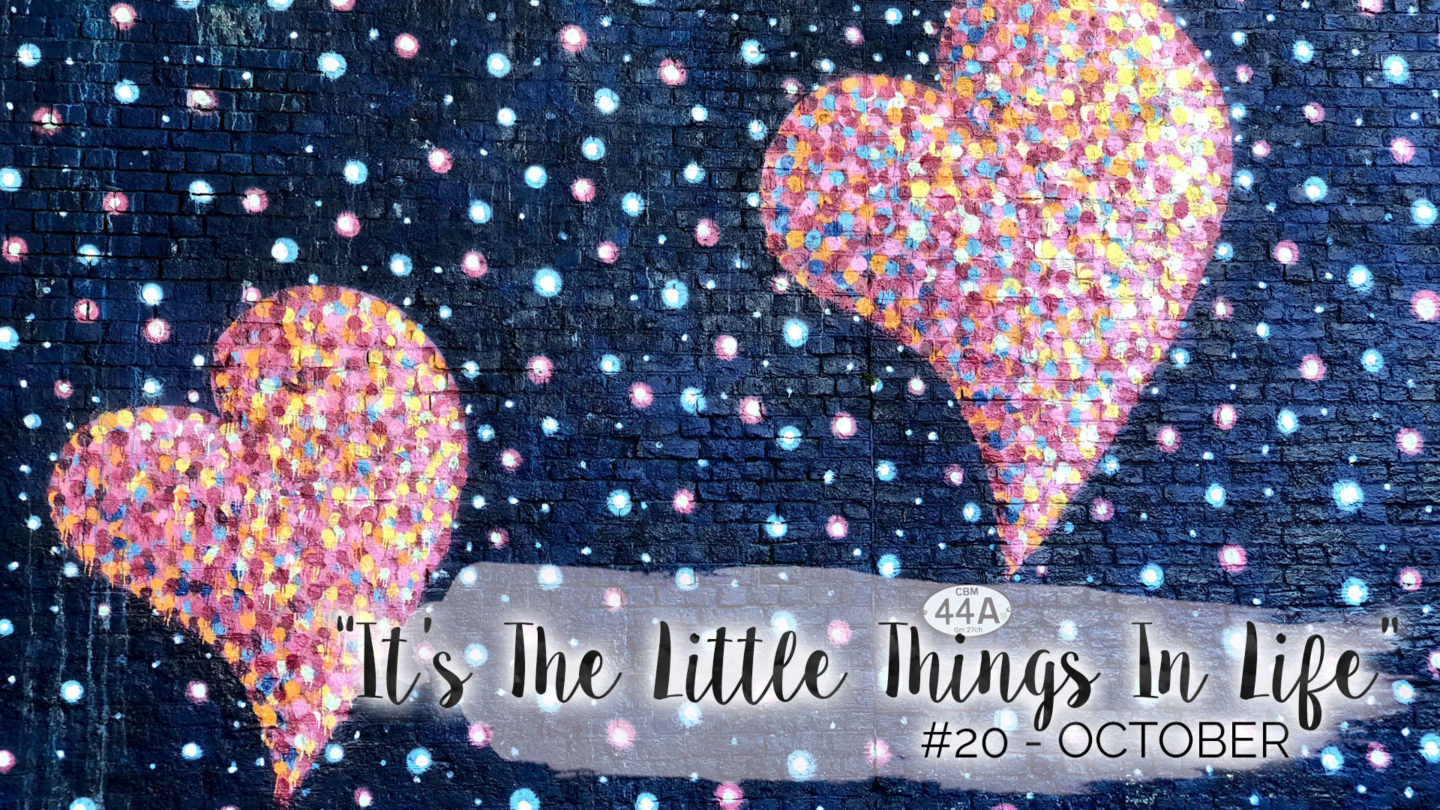 """""""It's The Little Things In Life"""" – 20 – October 