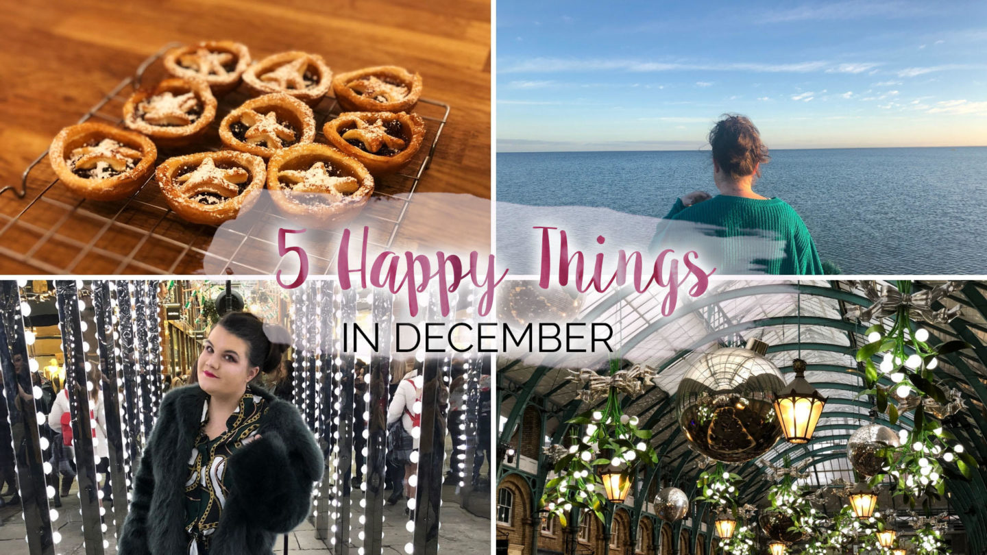5 Happy Things – #28 – December    Life Lately