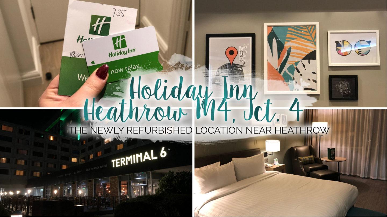 A Night At Holiday Inn Heathrow M4, Junction 4 || Travel