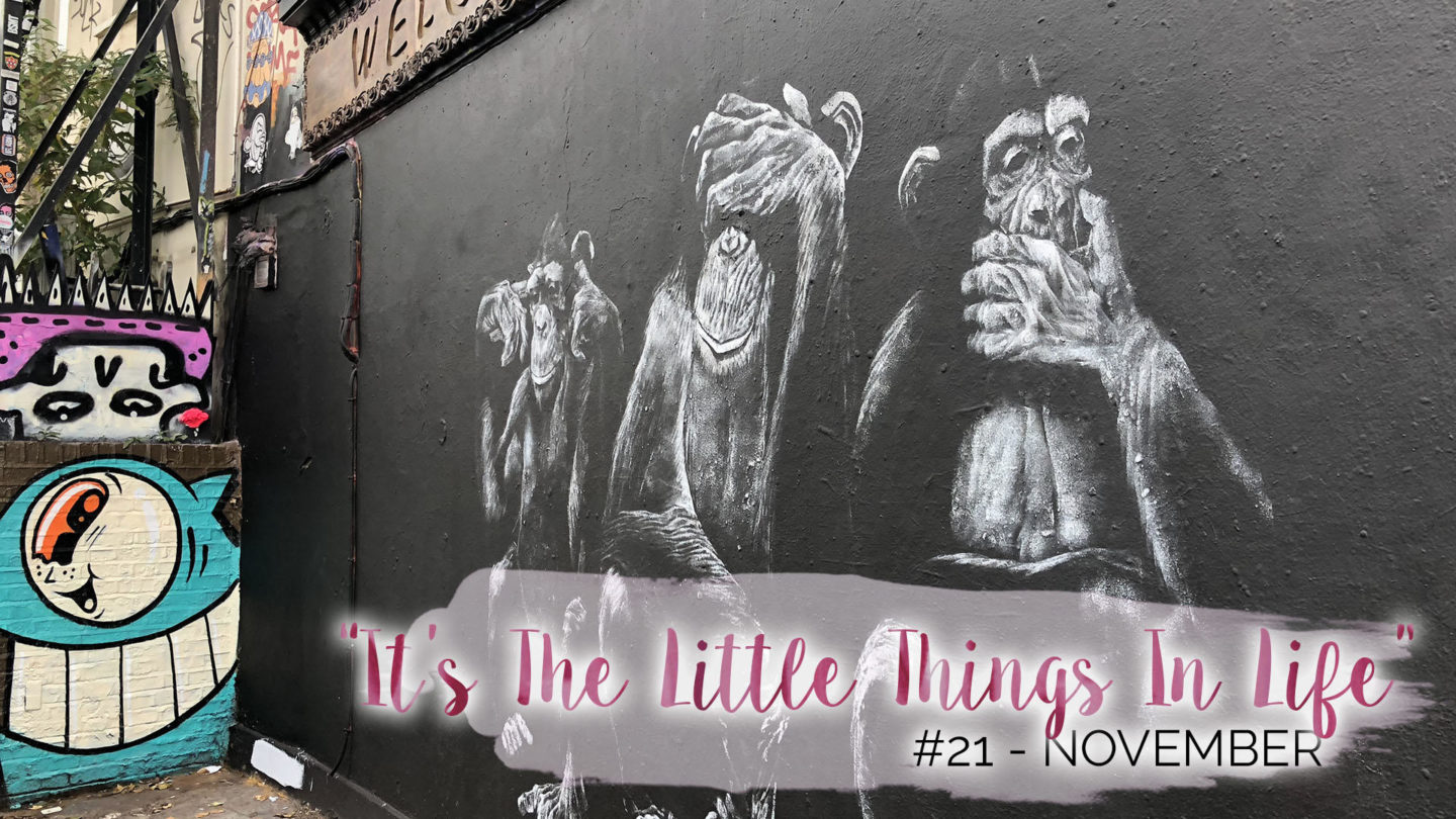 """""""It's The Little Things In Life"""" - 21 - November 