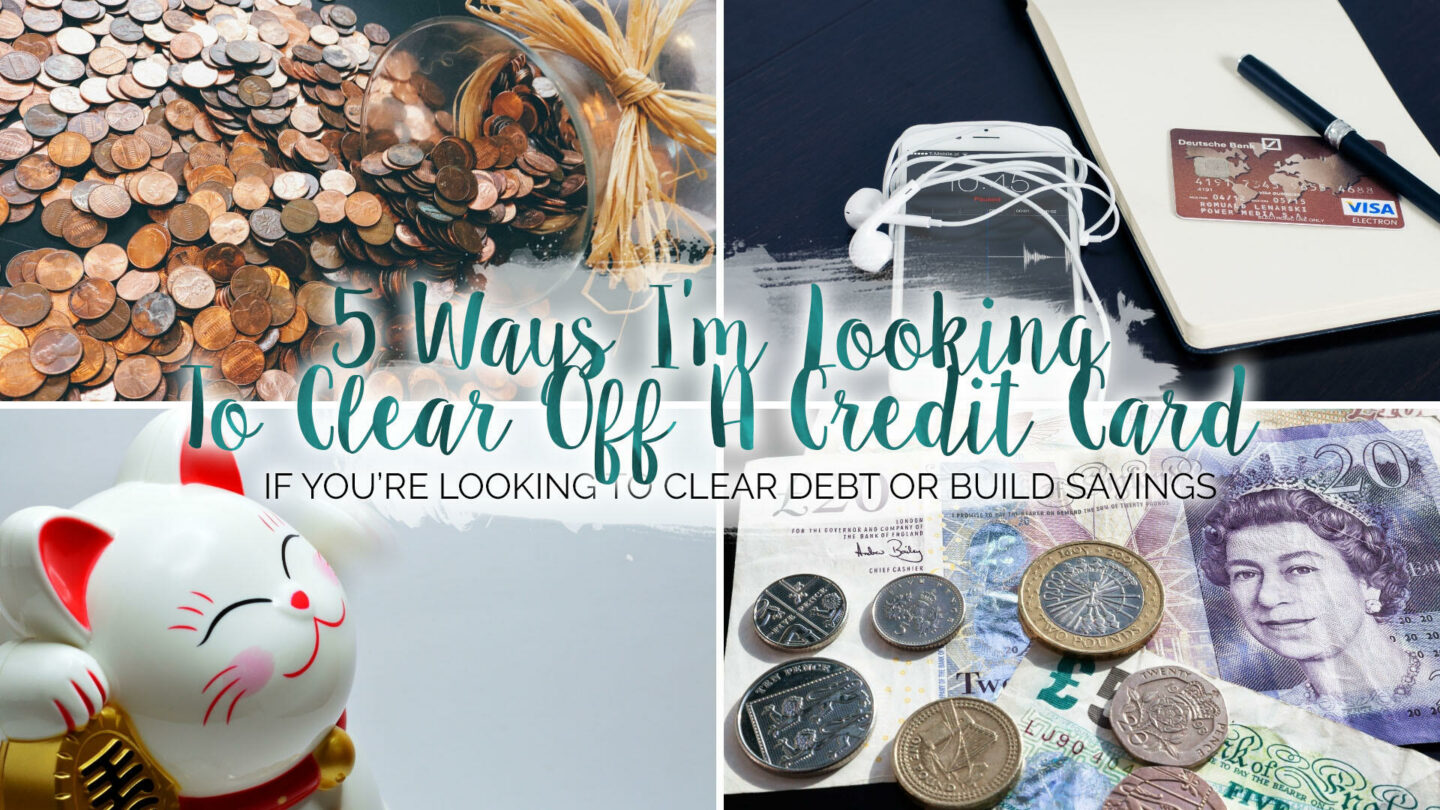 5 Tricks I'm Using To Pay Off A Credit Card This Year || Life Lately