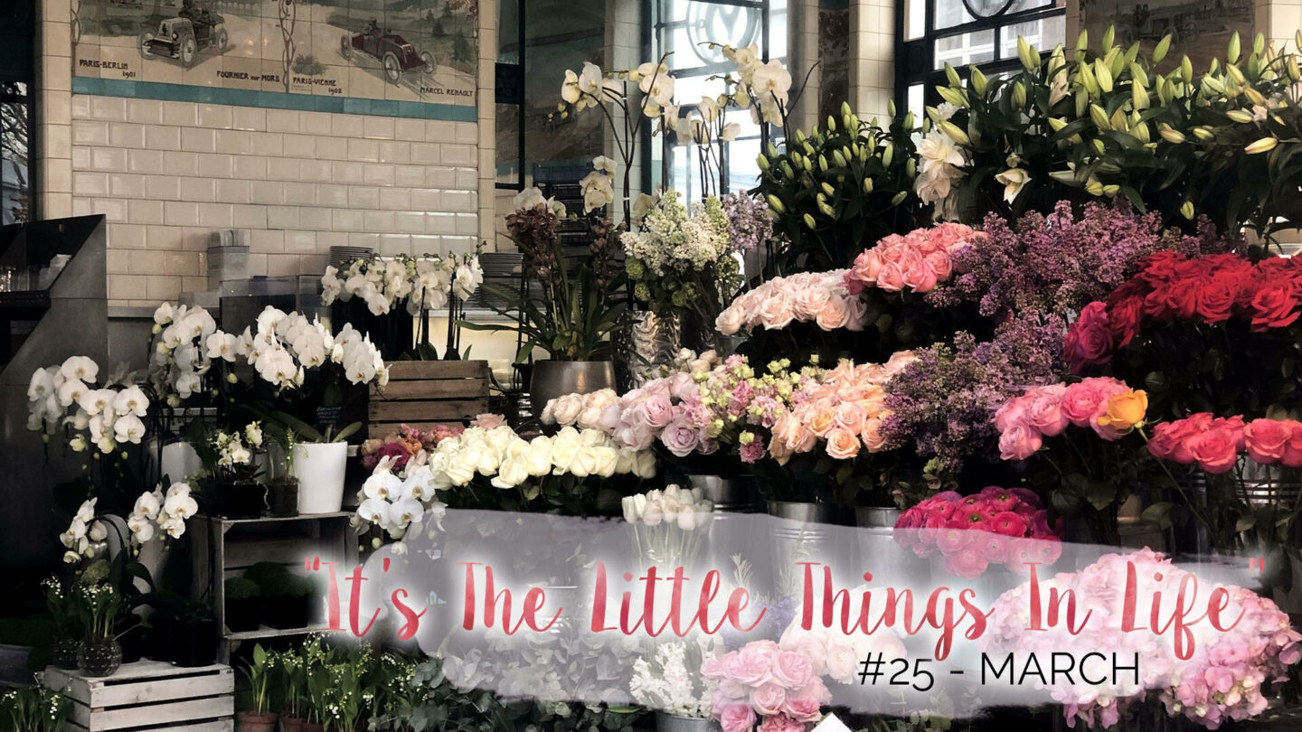 """It's The Little Things In Life"" – 25 – March 