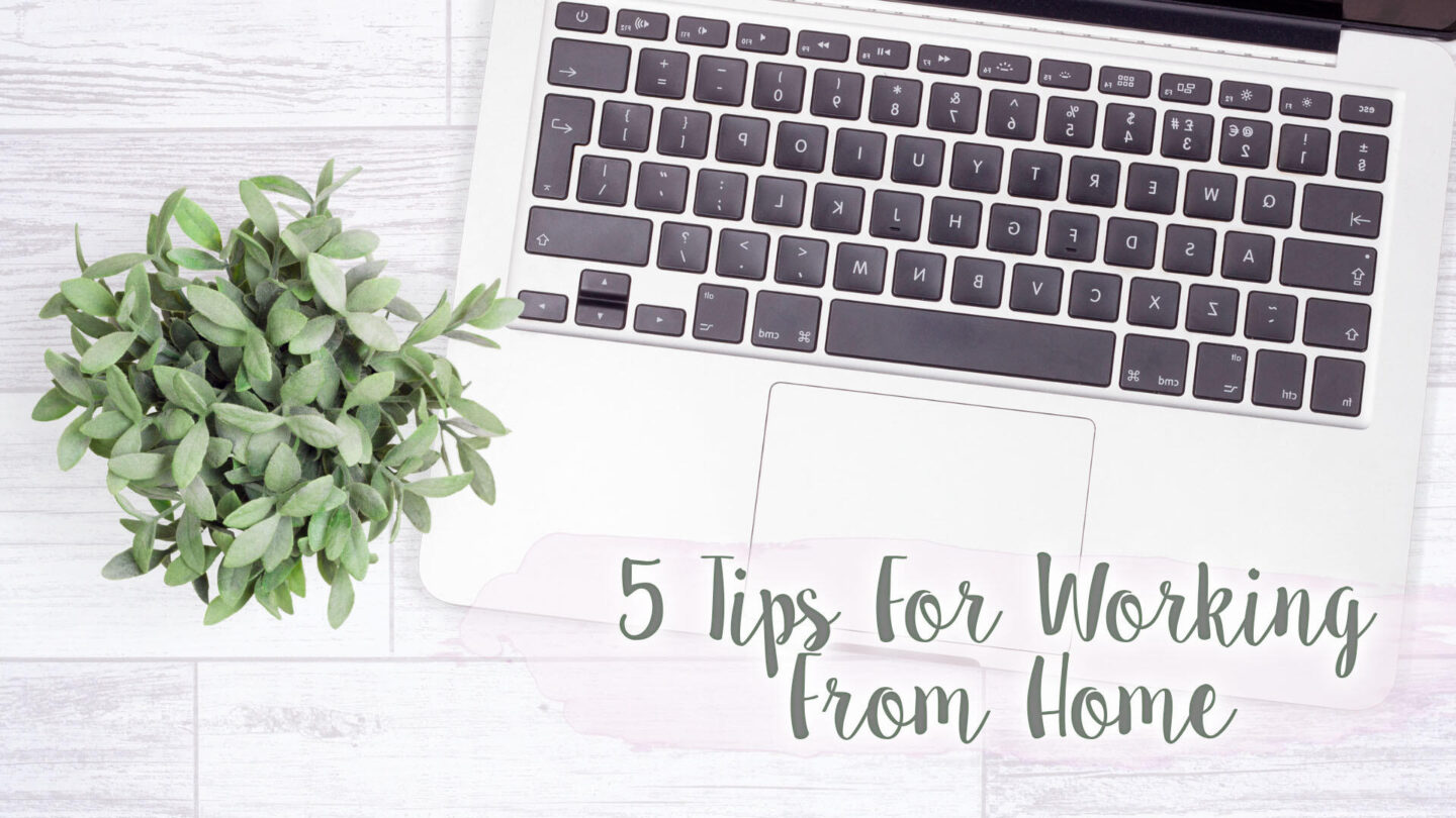 5 Things I've Found Essential Working From Home || Lifestyle