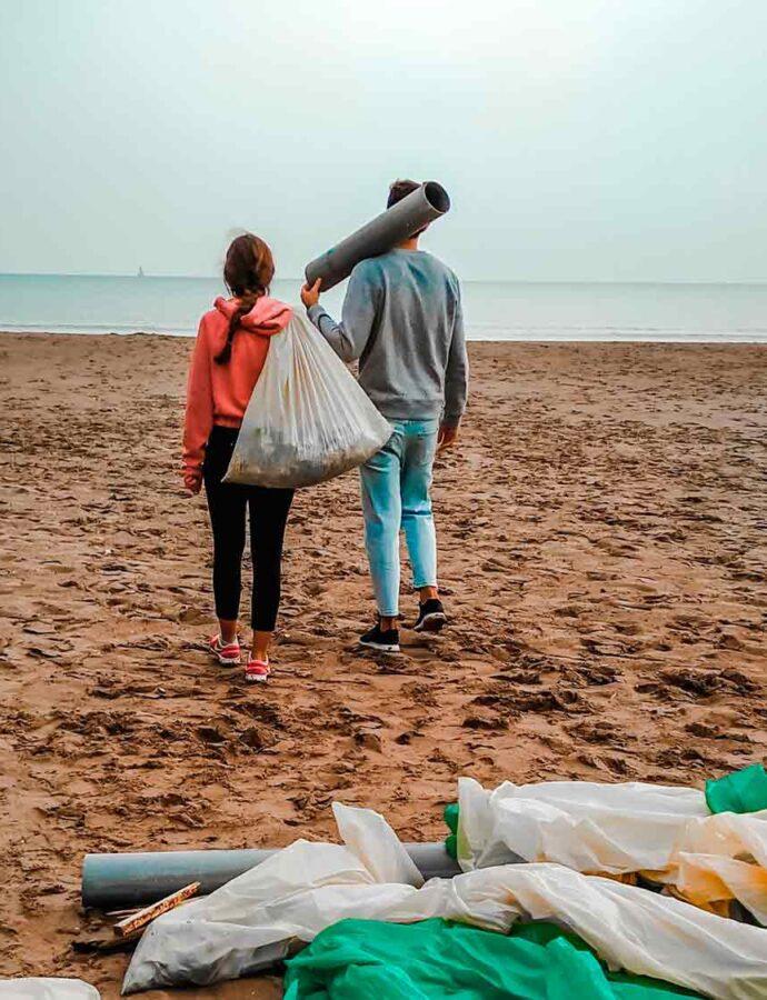 ¿Por qué limpiar la playa si yo no tiro nada?
