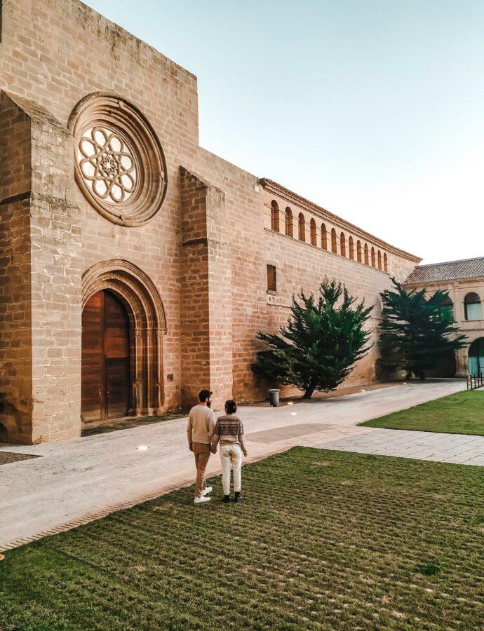 Durmiendo en un Palacio Abacial | Monasterio de Rueda.
