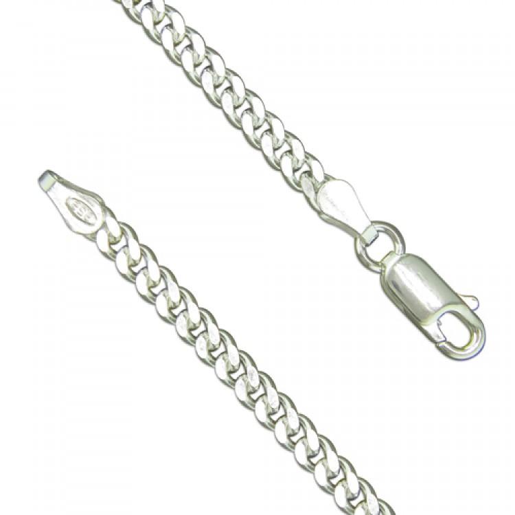 18.5cm/7.25in heavy diamond cut curb