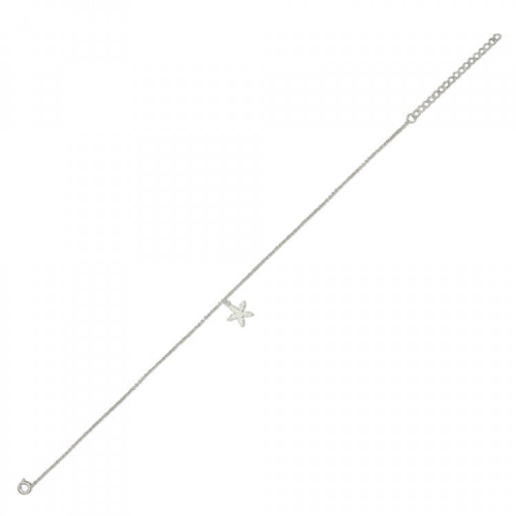23-28cm-9-11in with cubic zirconia starfish