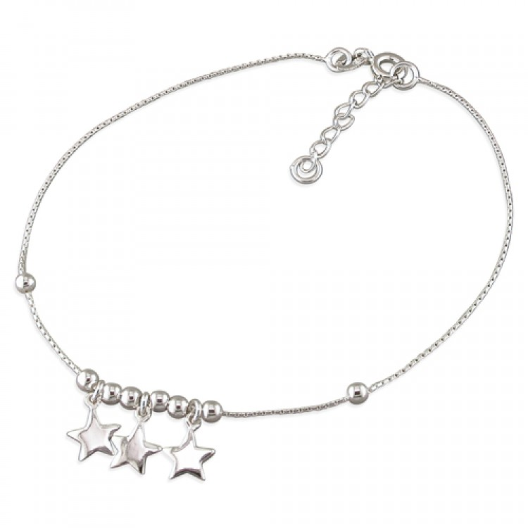 22.-24cm-8.5-9in stars and beads