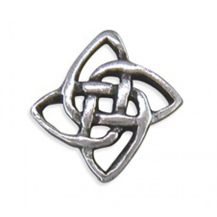 Mens Celtic square stud 5mm