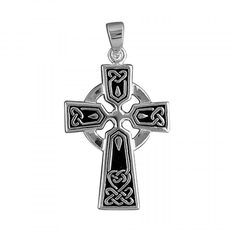 Mens medium Celtic cross