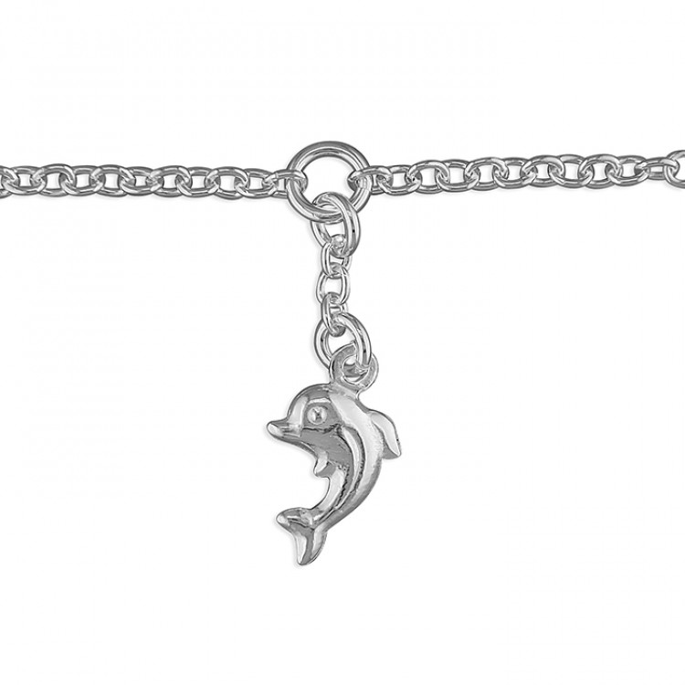 25cm dolphin charm on chain