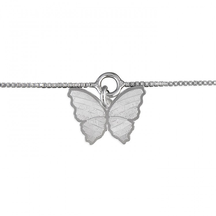25cm butterfly charm on chain