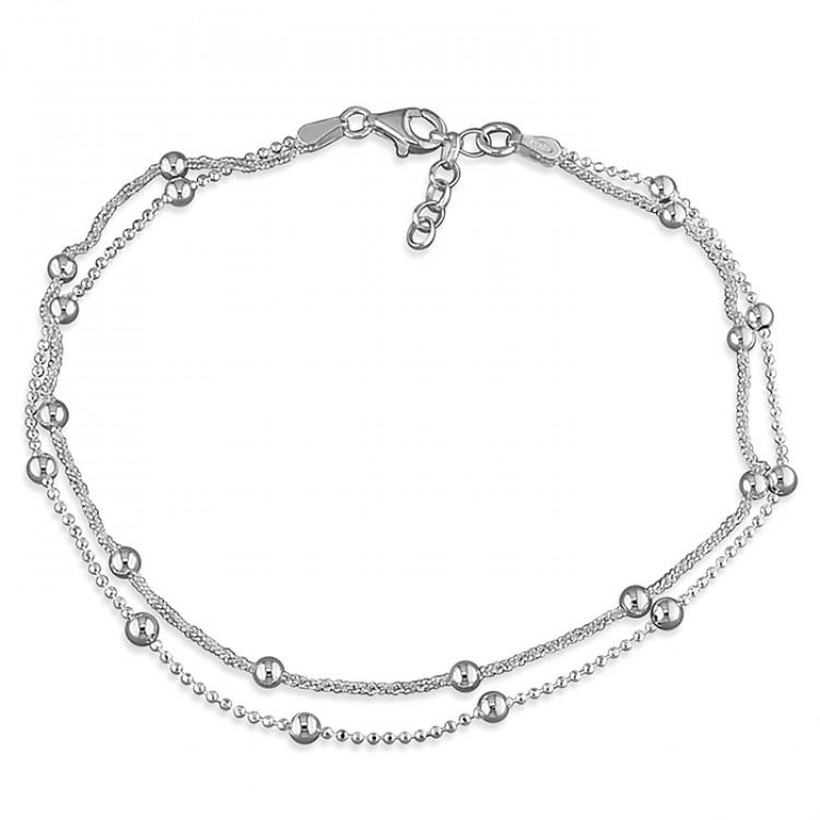 25cm double beaded chain