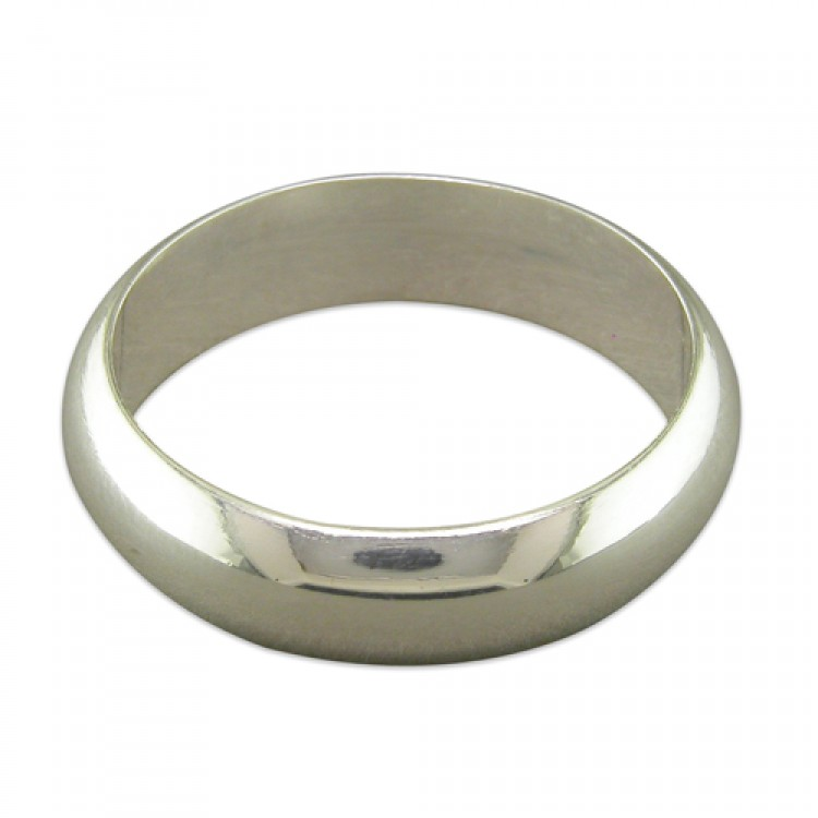 6mm heavy D shape band