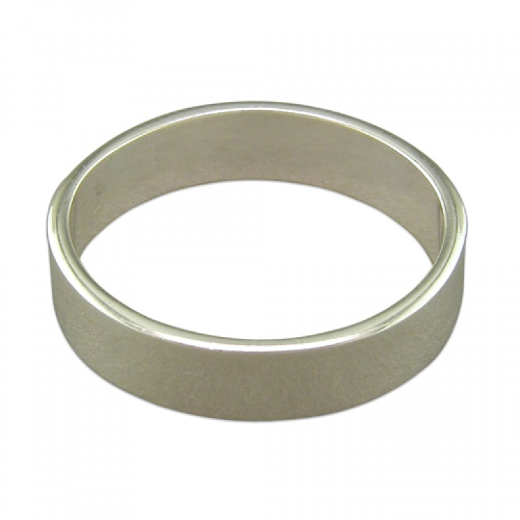 6mm heavy square thumb band