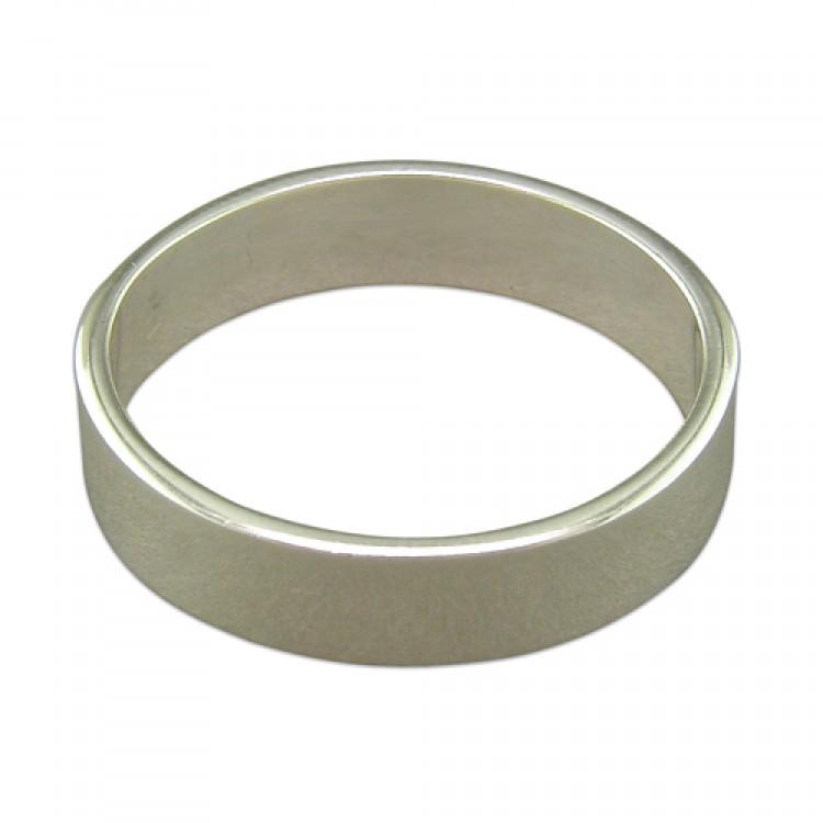 6mm heavy square thumb band