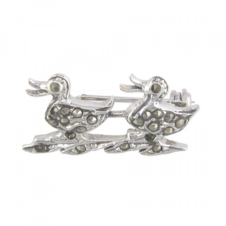 Mercasite ducks