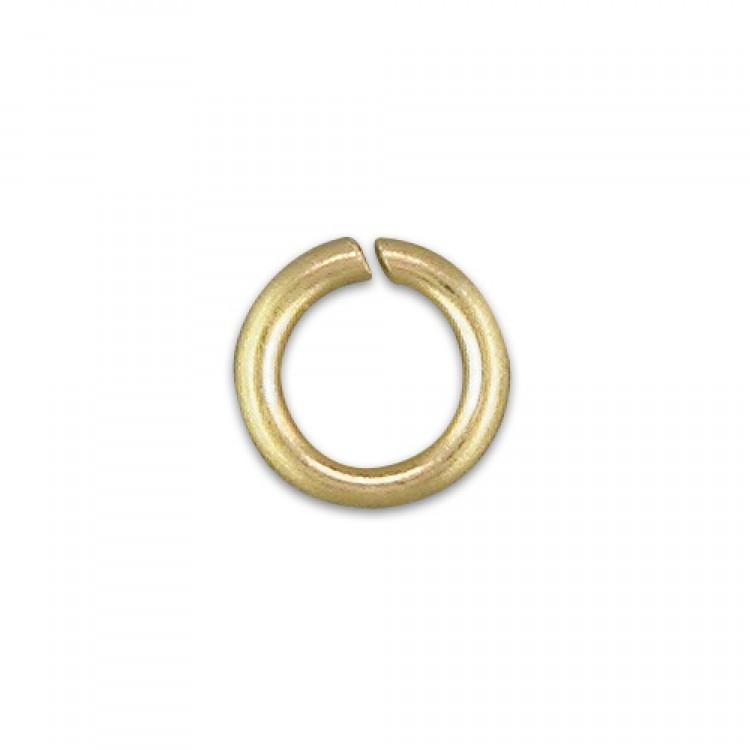 6mm heavy jump ring (per 5)