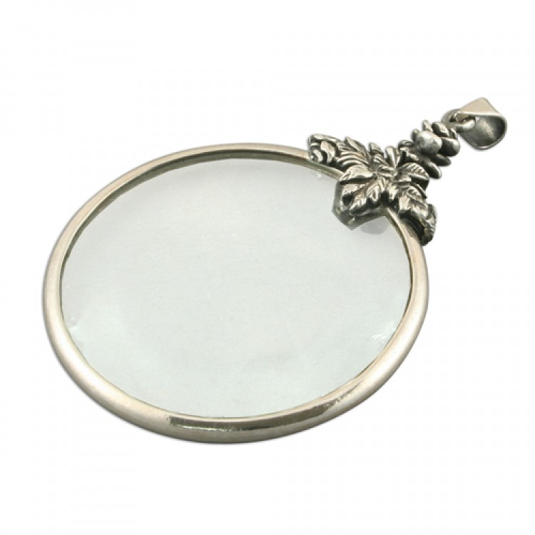 Large plain magnifying glass